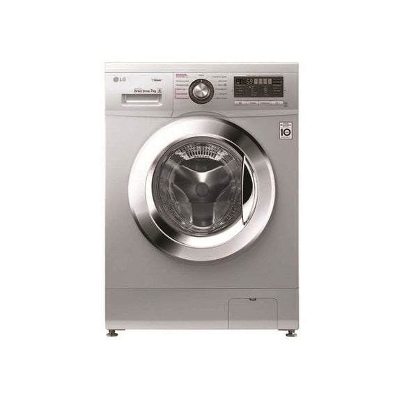 LG 7Kg Front Loader Washing Machine - Luxury Silver