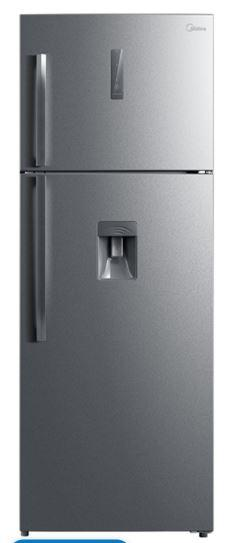 Midea 468L Combination Fridge With Water Dispenser - Stainless Steel