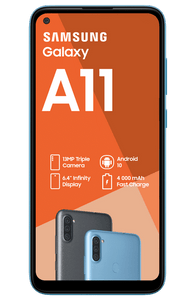 "Samsung Galaxy A11 DS - 32GB - 6.4"" Blue"