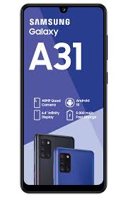Samsung Galaxy A31 128GB Dual Sim - Black