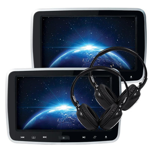 "ONEX 10.1"" Portable DVD Monitor Set of 2"