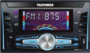 Telefunken TDCR-402 Bluetooth Car Audio Sound System