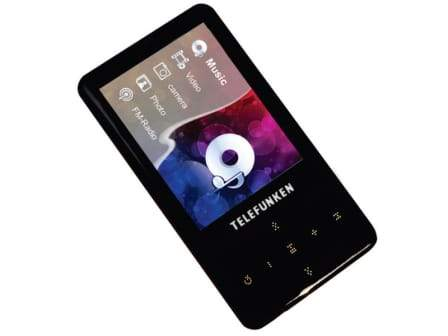 Telefunken Touch Panel Mp3 Player (TMP-400B)