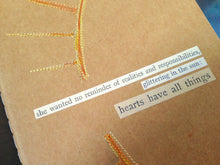 Load image into Gallery viewer, Adventure Journal - Sunray Yellow - Inspired Embroidery Cover