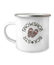 Load image into Gallery viewer, Snowshoe Rock Star Camp Mug - Hot Cocoa Coffee Cup