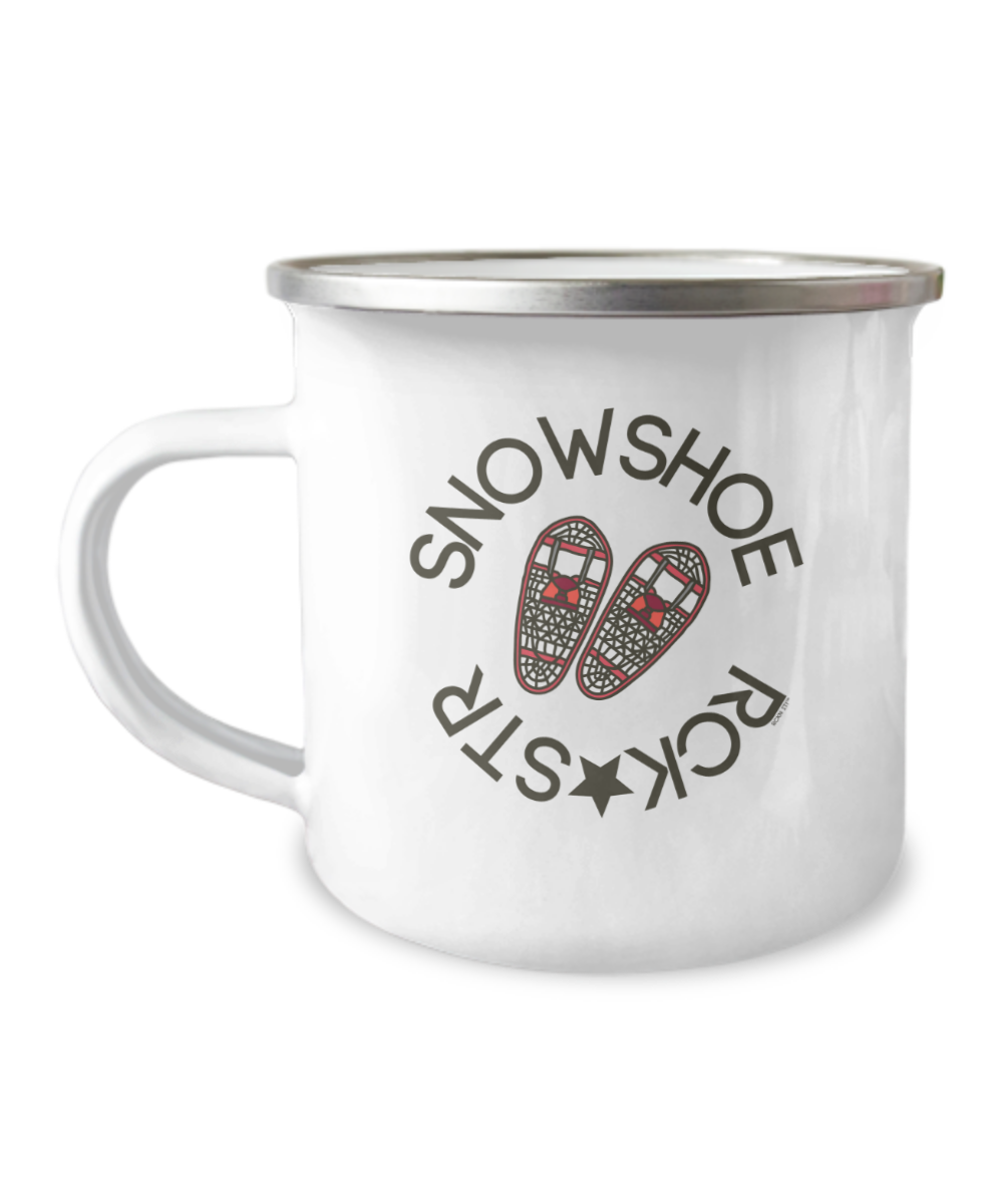 Snowshoe Rock Star Camp Mug - Hot Cocoa Coffee Cup