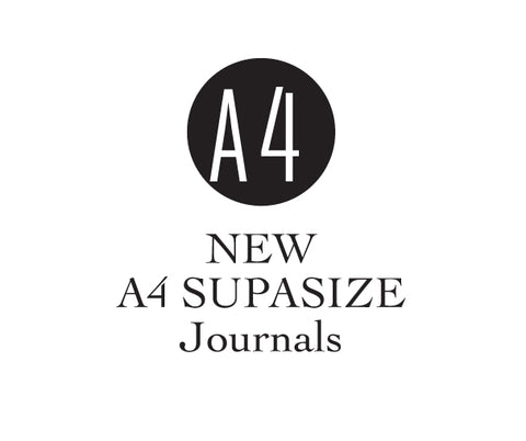 A4 SUPASIZE Journals