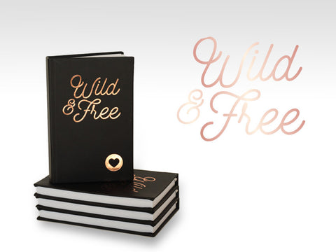 PJ001 Wild & Free Pocket Journal