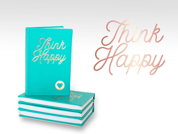 PJ002 Think Happy Pocket Journal