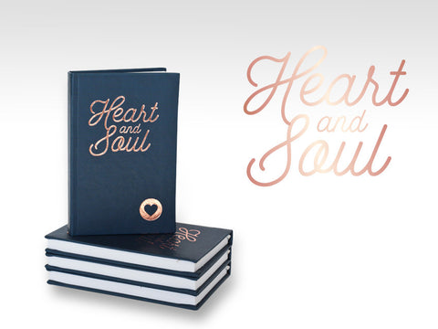 PJ003 heart & soul pocket journal