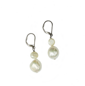 Audrey Pearl Drop Earrings