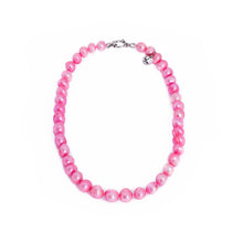 Load image into Gallery viewer, Hazel & Marie: Cultured Pearl Betty Large Size Pearl Necklace in Pink