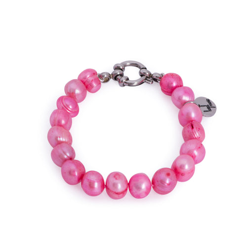 Betty Bracelet Hot Pink