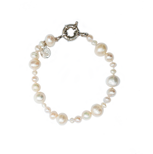 Gatsby Pearl Bracelet Natural