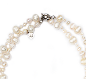 Gatsby Pearl Necklace in Natural