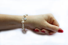 Load image into Gallery viewer, Gatsby Pearl Bracelet Natural
