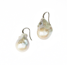 Load image into Gallery viewer, Oyster Drop Pearl Earrings in Natural