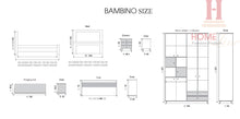 Load image into Gallery viewer, Bambino Bedroom - Single