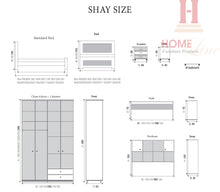 Load image into Gallery viewer, Shay Bedroom - Single