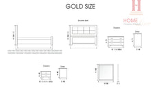 Load image into Gallery viewer, Gold Bedroom
