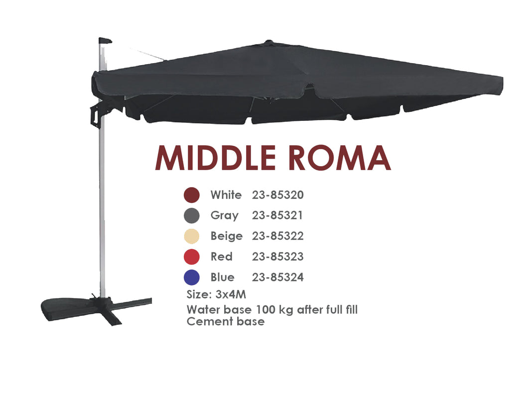 Middle Roma Umbrella