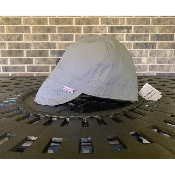 Grey Cary Inspired Welding Cap 100%  Softest Preshrunk Cotton by Pipeliners Cloud