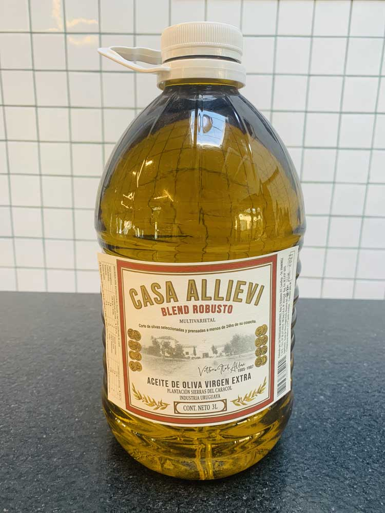 Aceite de oliva Allievi 3l Robusto