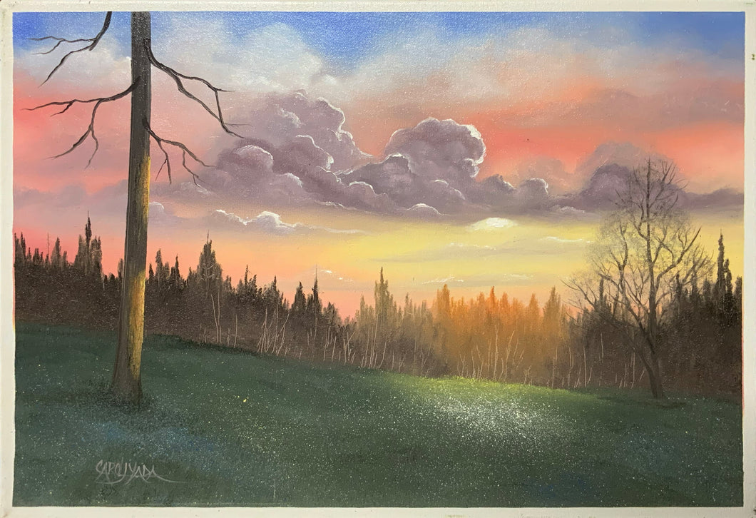Sunset with Clouds - Carol Yada