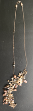 Load image into Gallery viewer, A Dangle of Seed Pearls on a thin Silver Chain