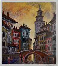 Load image into Gallery viewer, Venice Yellow Sunset - Anatole Krasnyansky