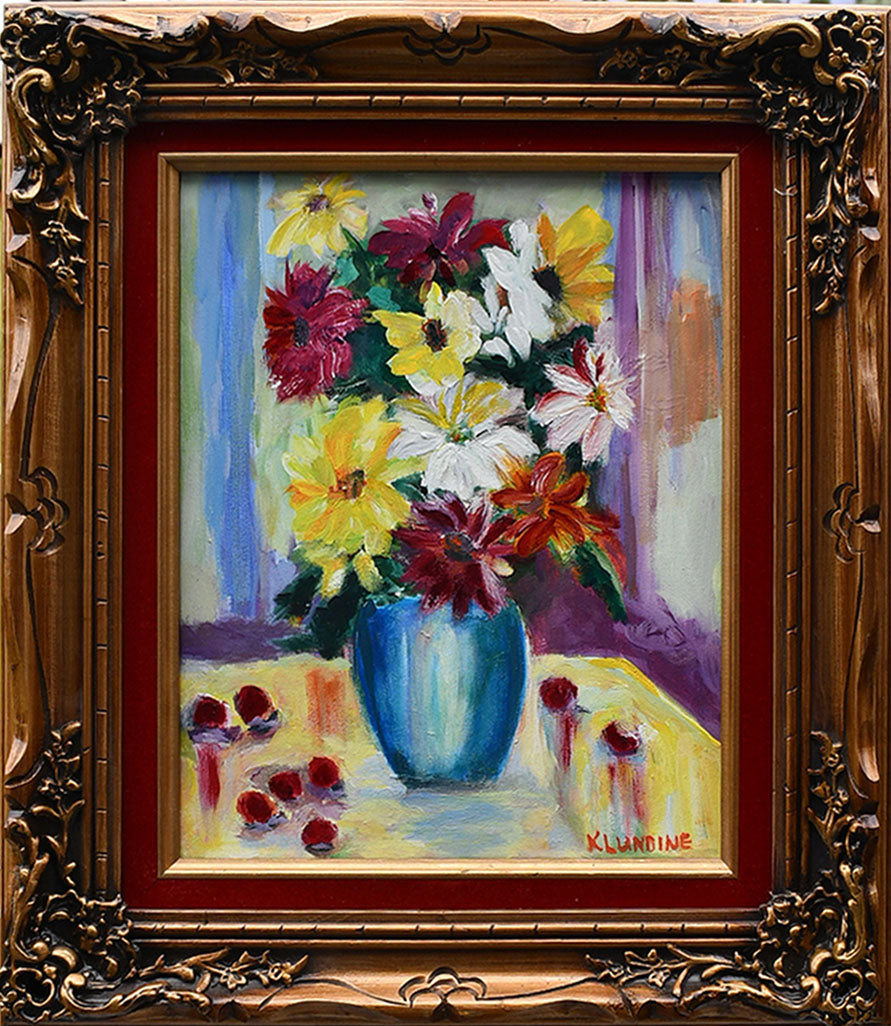Floral Still Life - Kathie Lundeen