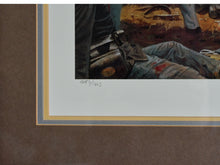 "Load image into Gallery viewer, ""Fire at the Angle""   Dale Gallon, signed Limited Edition print"