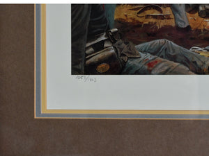 """Fire at the Angle""   Dale Gallon, signed Limited Edition print"