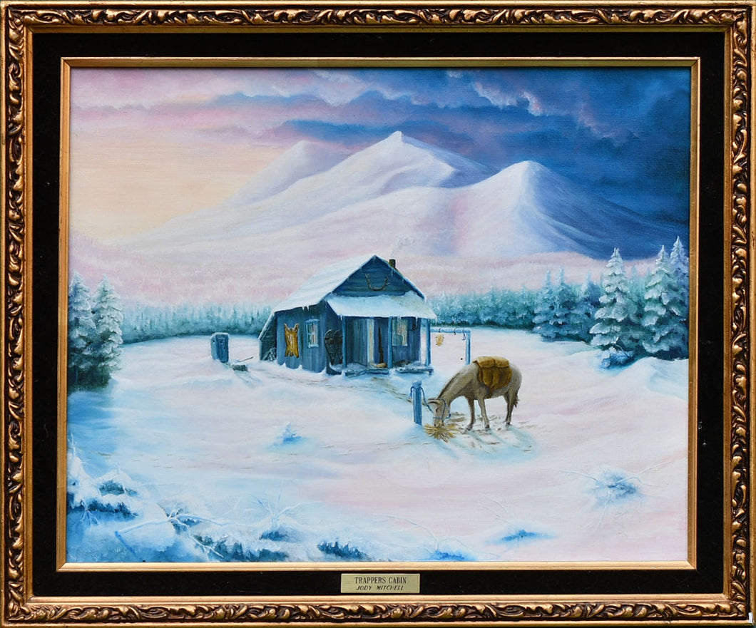 Trappers Cabin - Judy Mitchell