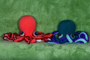 Crocheted Octopus - Adopt a Critter!