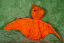 Load image into Gallery viewer, Crocheted Pterodactyl - Adopta Critter!