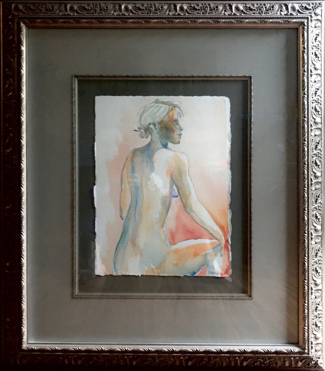 Figures in Watercolor - Set of Three