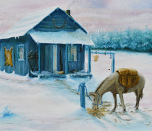 Load image into Gallery viewer, Trappers Cabin - Judy Mitchell