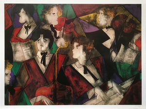 """Grand Orchestra"" - Linda Le Kniff, 1949 France"