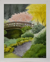 Load image into Gallery viewer, Japanese Garden Print - Molly Hashimoto