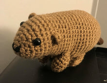 Load image into Gallery viewer, Crocheted Beaver - Adopt a Critter!