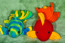 Load image into Gallery viewer, Crocheted Goldfish - Adopt a Critter!
