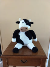 Load image into Gallery viewer, Knitted & Stuffed - Moo Cow