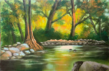 "Load image into Gallery viewer, ""Autumn on the River"" by Carol Yada"