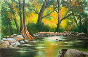 """Autumn on the River"" by Carol Yada"