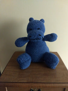 Knitted & Stuffed -  Hippopotamus