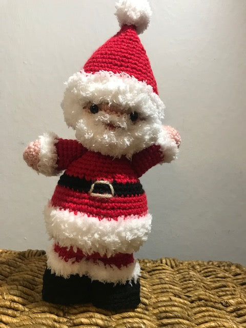 Crocheted Christmas Santa - meduium