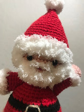 Load image into Gallery viewer, Crocheted Christmas Santa - meduium
