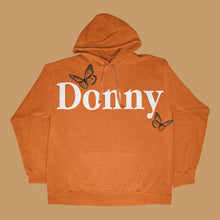Load image into Gallery viewer, Donny Hoodie- Orange & White