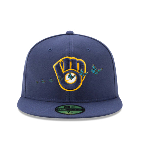New Era X Donny Fitted Hat | Milwaukee Brewers